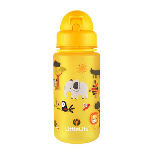 Littlelife Water Bottle 400ml - Safari
