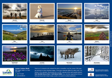 Load image into Gallery viewer, 2021 Landers  Annual Charity Calendar
