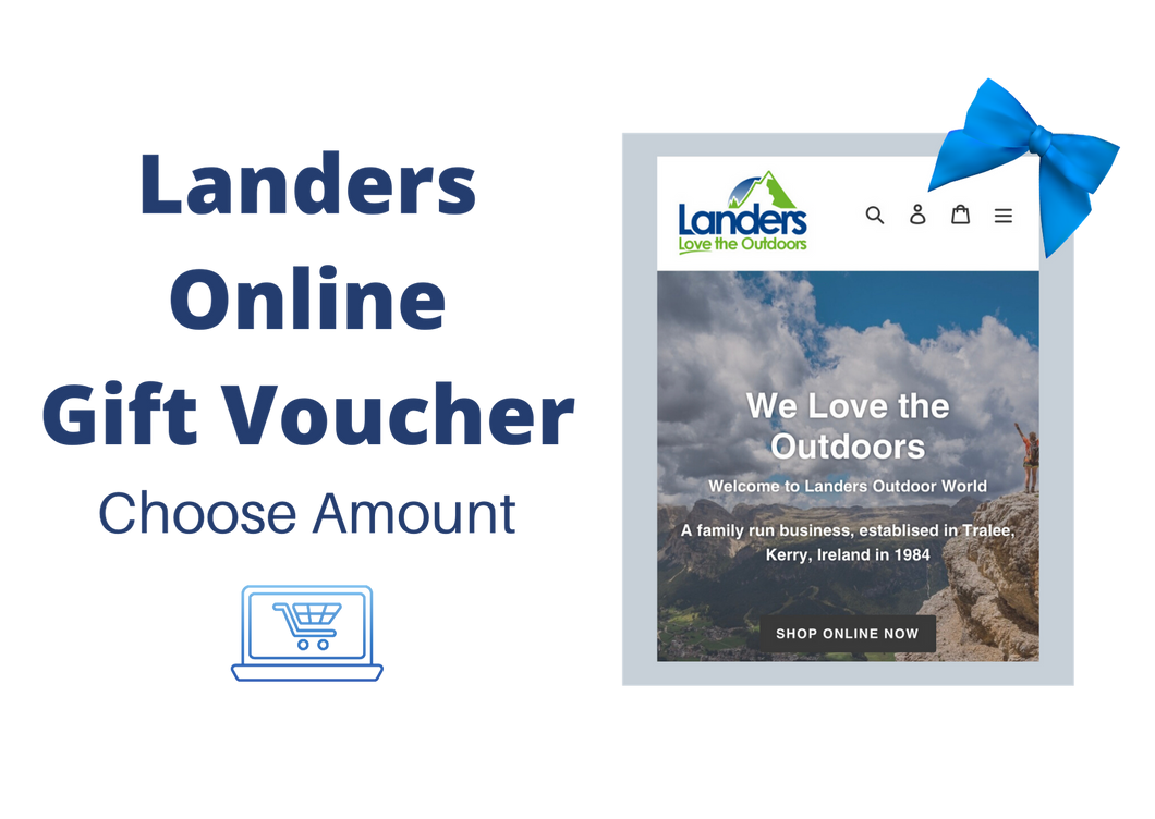 Landers Online Gift Voucher - For Online Use Only