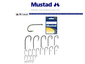 Mustad Beak Baitholder Hook Size 5/0 (5 Pack) Nickel