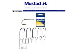 Load image into Gallery viewer, Mustad Beak Baitholder Hook Size 12 (10 Pack) Nickel