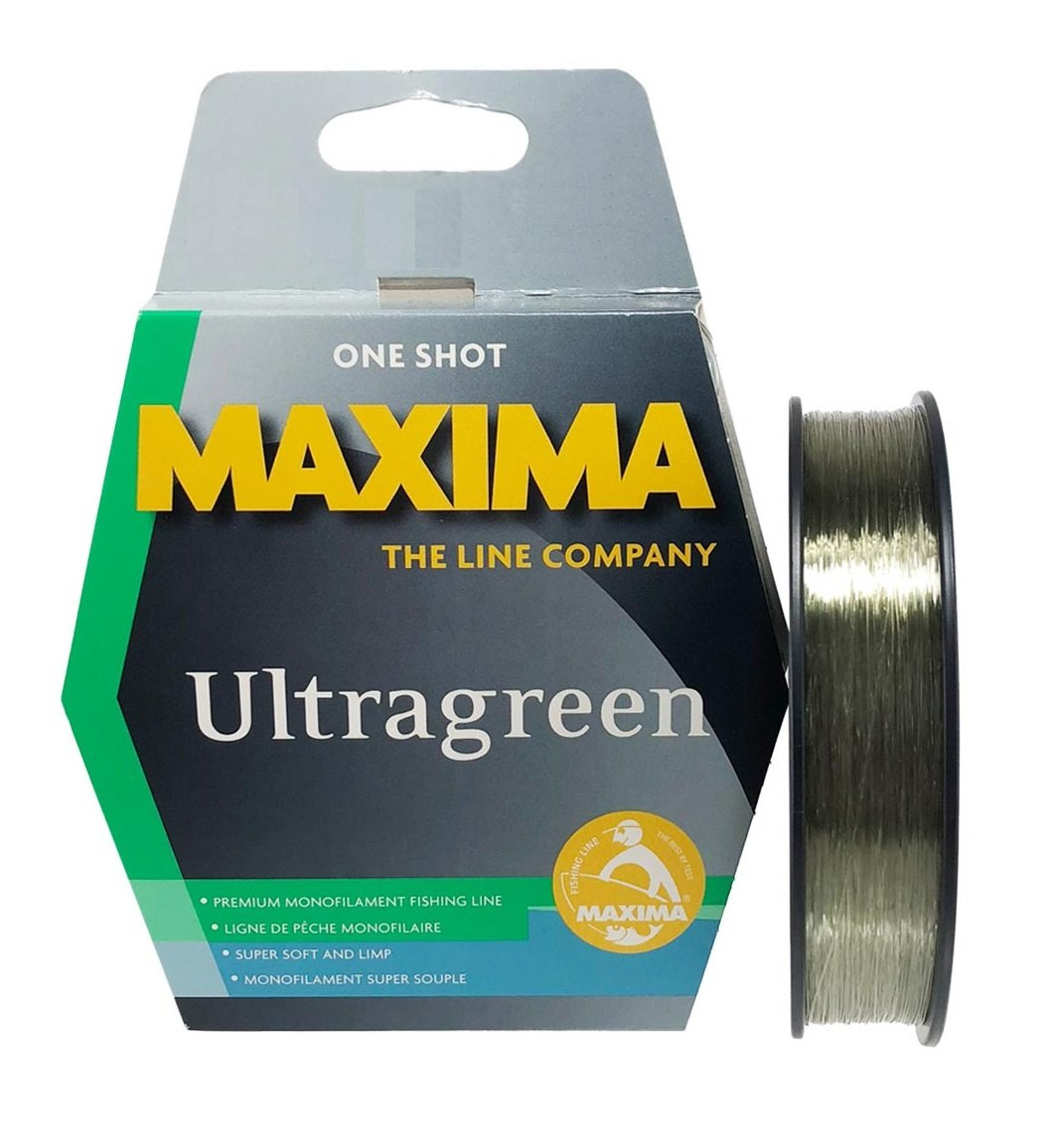 20lb Maxima Ultragreen One Shot