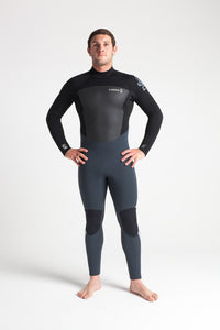 C-Skins Men's Legend 5/4/3mm GBS Back Zip Steamer Wetsuit