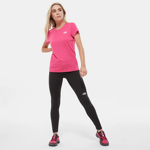 The North Face Women's Reaxion Amp Short Sleeve Tech Tee