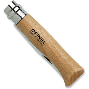 Opinel #8 Stainless Steel Folding Pocket Knife