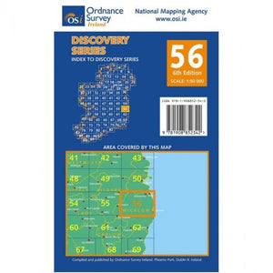 OSI Discovery Map 56 Laminated