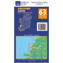 Load image into Gallery viewer, OSI Discovery Map 63 Laminated
