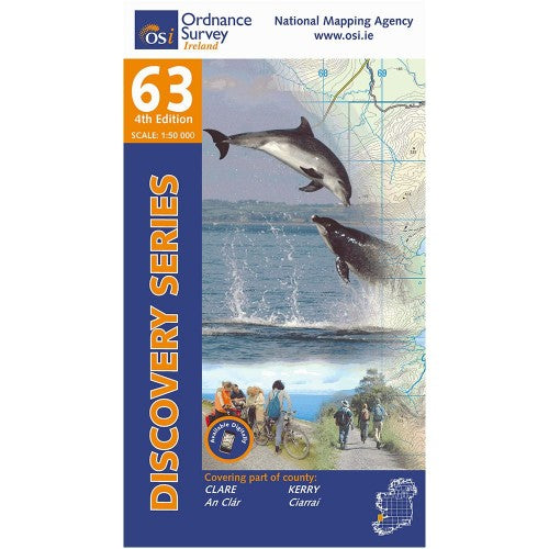 OSI Discovery Map 63 Laminated