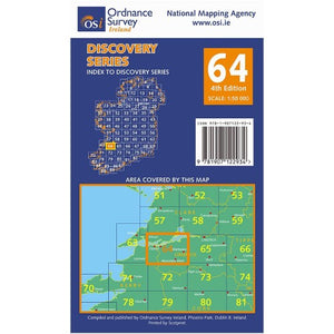 OSI Discovery Map 64 Laminated