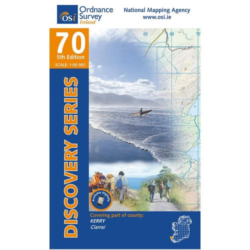 OSI Discovery Map 70 Laminated