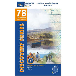 OSI Discovery Map 78 Laminated
