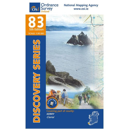 OSI Discovery Map 83 Laminated