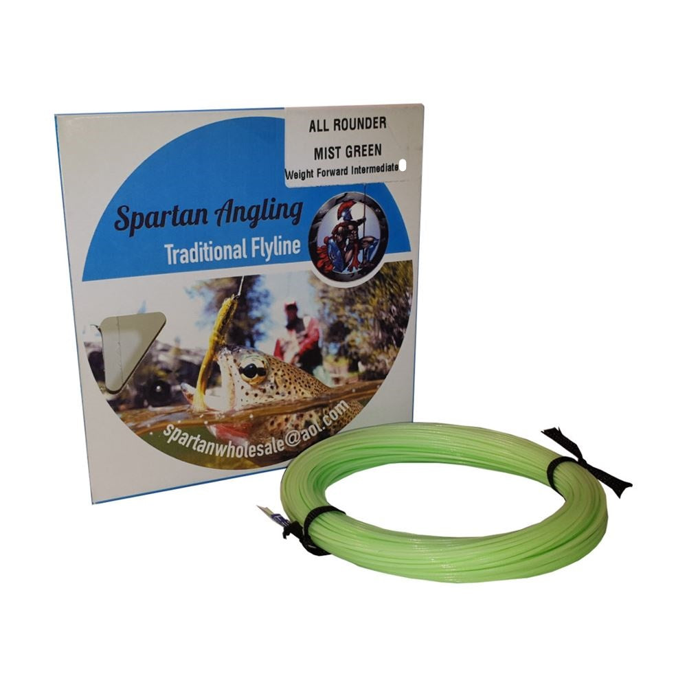 Spartan Traditional Weight Forward Intermediate 6 Mist Green Fly Line