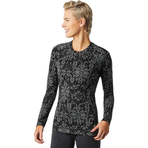 Smartwool Women's Merino 250 Long Sleeve Crew Pattern Baselayer