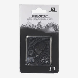 Salomon Quick Lace Kit - Black