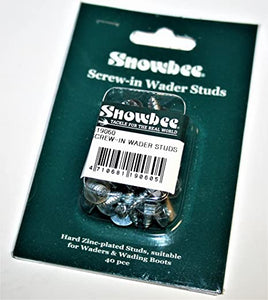 Snowbee Screw In Wader Studs(40))