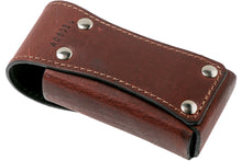 Load image into Gallery viewer, Victorinox Leather Pouch Brown Large