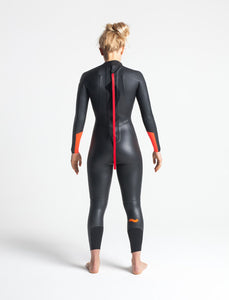 C-Skins Women's Swim Research 4/3mm Swim Wetsuit