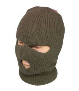 SSP Three Hole SAS Balaclava - Olive