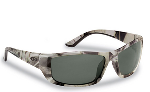 Flying Fisherman Buchanan Sunglasses - Camo Smoke