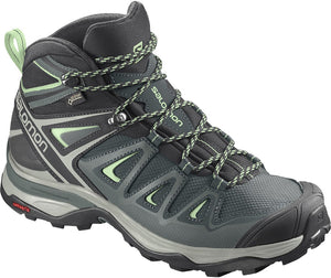 Salomon Women's X Ultra 3 Mid Gore-Tex Waterproof Trail Shoes