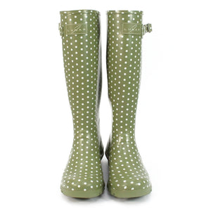 Lunar Women's Rubber Spot Wellies