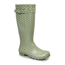 Load image into Gallery viewer, Lunar Women's Rubber Spot Wellies