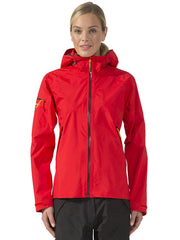 Didriksons Womens Okuda Jacket, Red