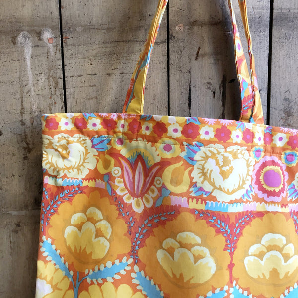 Vilasi Cotton Zip Shopper Bag