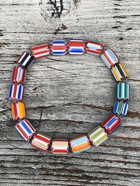 Recycled Flip Flop Bracelets (Set of 8)