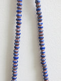 Jangali Pattern Recycled Glass Bead Necklace
