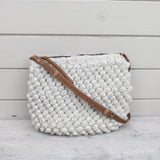 Huri Knit Wool Crochet Bobble Cross Body Bag