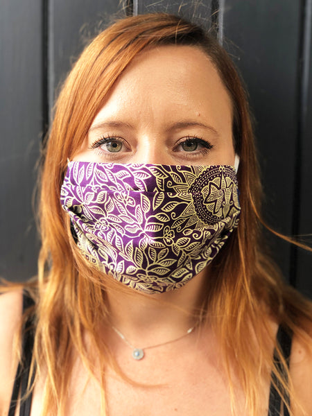 Komodo Organic Cotton Face Mask