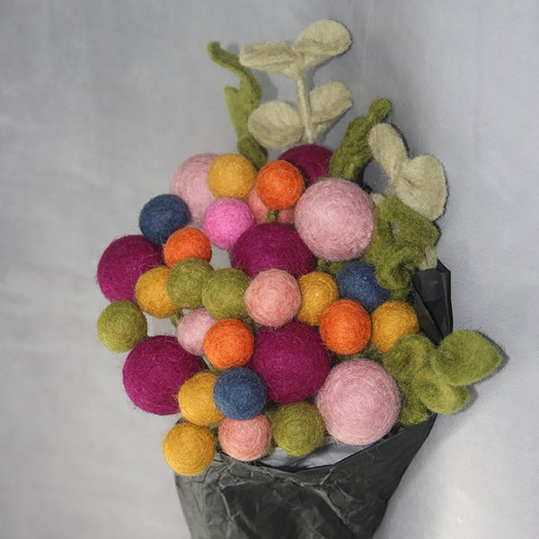 Felted Wool Flower Small