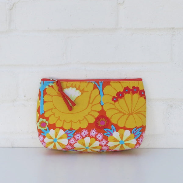 Daya Cotton Clutch Makeup Bag