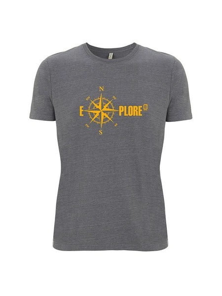 Men's Organic Cotton Explore  T-Shirt