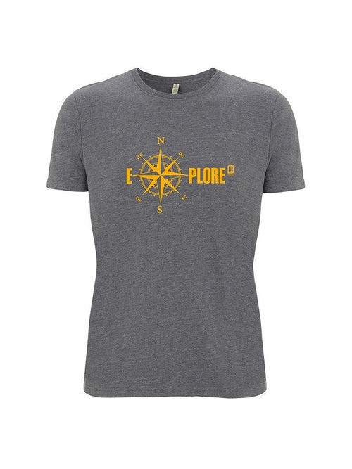 LNSquared-Men's Recycled Organic Cotton & Polyester Explore T-Shirt-T-Shirts-