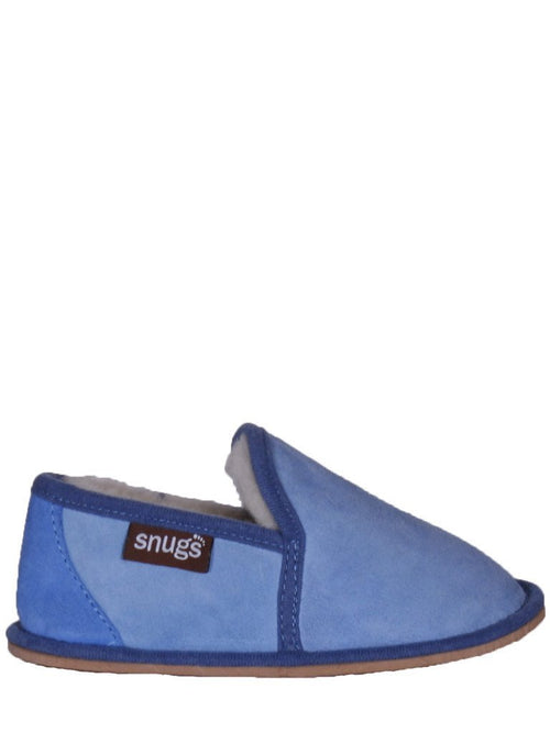 Snugs-Kid's Nevis Sheepskin Slippers-Slippers-