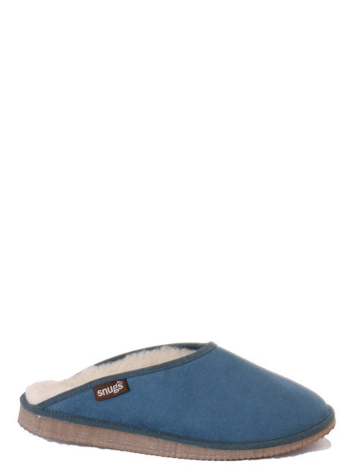Snugs-Unisex Snowdon Sheepskin Slippers-Slippers-