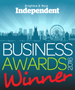 Brighton & Hove Independent Business Awards Winner 2016