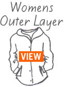 Icebreaker Womens Merino Wool Outer Layers