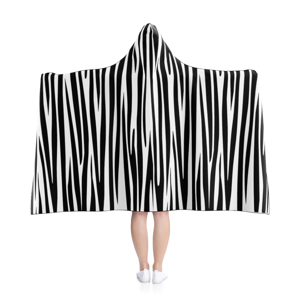 Grevy's Hooded Blanket