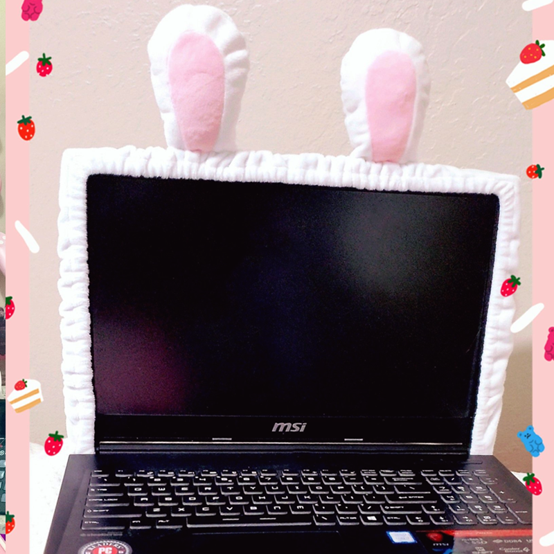 Computer Monitor Screen Soft Cozy Cover Sleeves - PREORDER