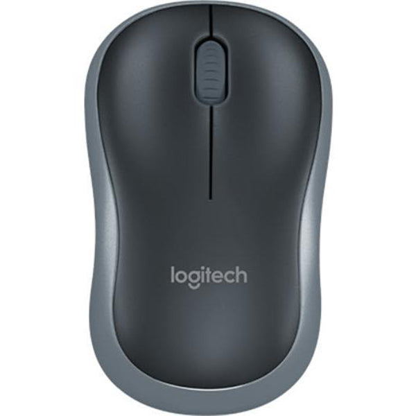 Logitech M185 Wireless Mouse (Swift Grey)