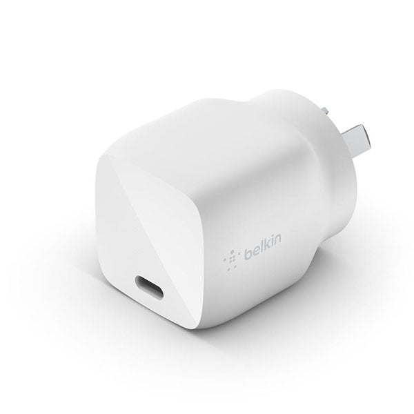 Belkin 30W USB-C Wall Charger (White)