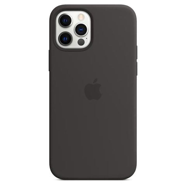 Apple Silicone Case for iPhone 12/12 Pro (Black)