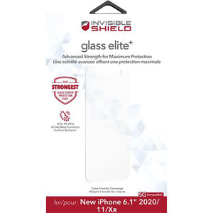 InvisibleShield GlassElite+ Screen Protector for iPhone 12/12 Pro