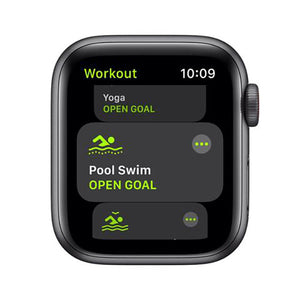 Apple Watch Nike SE 40mm Space Grey Aluminium Case GPS