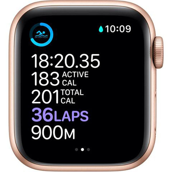 Apple Watch SE 44mm Gold Aluminium Case GPS