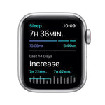Apple Watch SE 44mm Silver Aluminium Case GPS